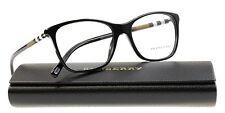 100% Authentic BURBERRY BE2141 3001 Black Full Rim 53/16/140 Women's Eyeglasses