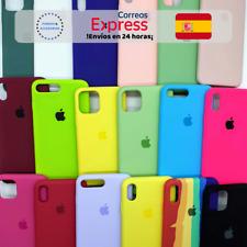 Funda Silicona Líquida para iPhone 7 / 8 / 7 Plus / 8 Plus Interior Microfibra