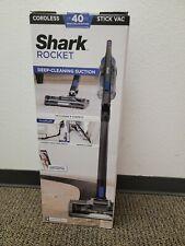 Brand New Shark Rocket IX141 Cordless Stick Vacuum Cleaner - Blue Iris