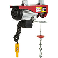 Electric Hoist Lifting Engine 1100lb Heavy Duty Motor PA500 Winch Hoist Crane