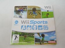 Wii Sports - Nintendo Wii / Wii U (PAL) Game Disc & Cardboard Case