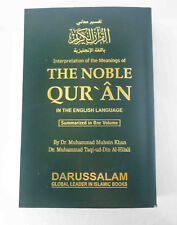 The Noble Holy Quran Coran in English Translation meanings with Tafsir Tafseer