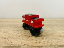 Sodor Line Caboose Red - Thomas The Tank Engine & Friends Wooden Railway Trains