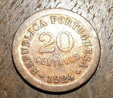 PIECE DE 20 CENTAVOS DU PORTUGAL 1924 (191)