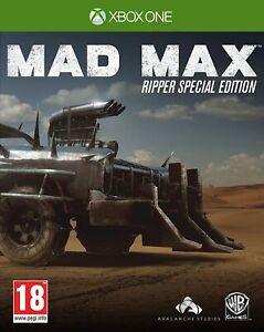 Gioco XBOX ONE usato garantito MAD MAX EDIZIONE RIPPER CON STEELBOOK ita