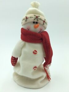 Charming Christmas Decoration Sitting Decorations Snowman Set 26