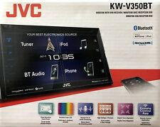 "NEW JVC KW-V350BT 6.8"" Touchscreen, 2-Din Bluetooth Car Stereo DVD/CD/AM/FM"