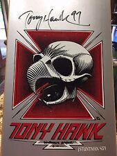Vintage Rare 1995 NOS Tony Hawk Birdhouse SIGNED skateboard Powell Peralta Hosoi