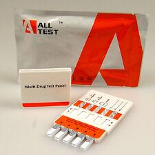WORKPLACE DRUG TESTING KIT 1 x 7 DRUG PANEL TEST TESTS HOME WORK NHS