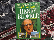 MY DEAR OLD THING -  HAND SIGNED BY HENRY BLOFELD - 1988 HB DJ BOOK