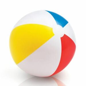 "Intex 59020EP Glossy Panel Inflatable Beach Pool Ball 24"" Age 3+"