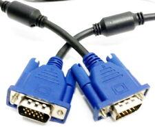 Premium 1,8m VGA SVGA 15Pol Sub D Kabel Monitorkabel 3D LCD TFT Monitor Beamer