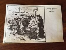 POSTCARD JEW JUDAICA JEWS JEW JUDAISM POLISH PROPAGANDA POLAND