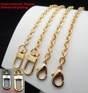 Purse Chain Strap Gold Handle Shoulder Crossbody Handbag Metal Replacement 7mm