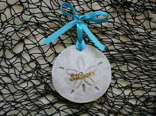 ST. CROIX Sand Dollar Made With Sand Beach Ornament