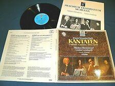 Bach - Cantatas BWV 73 & 94 - Leonhardt / Harnoncourt - IMPORT Telefunken STEREO