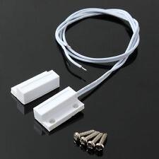 2X MC-38 Wired Door Window Sensor Magnetic Switch Home Alarm System Detector QE
