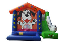 NEW Commercial Heavy Duty 18 oz Vinyl Inflatable Combo Bouncer House Puppy Land