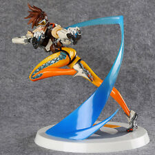 OW Overwatch Action Figure Tracer PVC Statue 11inch high Toy Gift in box