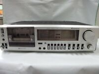 SAKAI CD3010 Stereo Cassette Deck Tape Player Dolby NR Analogue Indicator Japan