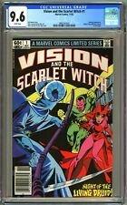 VISION & THE SCARLET WITCH #1 - CGC 9.6 - WP - NM+ NEWSSTAND EDITION - 1982