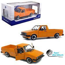 Solido 1:18 - 1982 Volkswagen Caddy MK1 Custom Decal Kit (Orange) Diecast Model