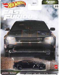 Hot Wheels Premium Fast & Furious Furious Fleet Dodge Charger SRT Hellcat
