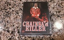 CHAINSAW KILLER NEW SEAL DVD! 2014 MADMAN HORROR! Friday The 13th Evil Dead