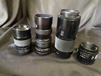 Minolta Compatible Lens Lot - Bundle Price