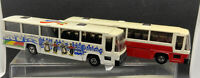 2 X EFSI Holland 1/87/HO Scale Diecast Volvo  & DAF Coach UNBOXED VGC (LOCRRUN8)