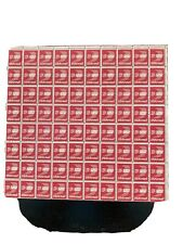 sheet of 13cent Us airmail postage stamps 80 stamps new ! glue on back clean!
