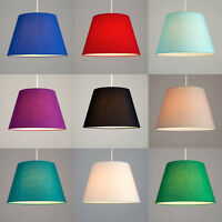 Cotton Fabric Ceiling Pendant Table or Floor Lamp Light Shade Lampshades 2 Sizes