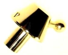 44000712 Manette bouton gaz dorée pour cuisinière ROSIERES