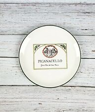 Delano Studios Pig Cello Wine Cheese Dessert Wall Decor Plate