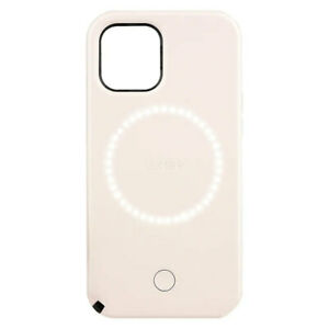 """Case-Mate LuMee Halo Case Cover For Apple iPhone 12/12 Pro 6.1"""" Millennial Pink"""