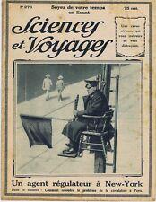 Sciences et voyages 276 du 11/12/1924 Eyzies Bornéo Carthage Los Angeles pétrole