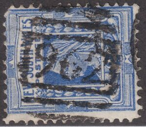 NSW numeral postmark 962(1) of WAGRA [rated 3R] Type 4B