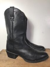 Ariat Black Leather Western / Work Boots, Mn's 13D