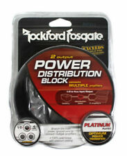 Rockford Fosgate RFD1 1/0 AWG 2 Way Distribution Block