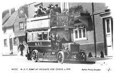 R175153 M. E. T. B2447 at Reigate Red Cross c. 1915. Pamlin Prints. RP