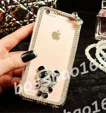 Glitter Luxury Crystal Bling Rhinestone Diamonds Soft Silicone Case Cover AE-13