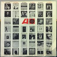 ATLANTIC RECORDS USA black & white Inner Sleeve For USA Mono Jazz & Soul 1960s