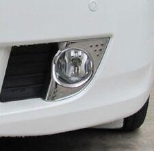 Chrome Front Fog Light Bumper Cover Reflect Garnish for Honda Accord Euro 08-11