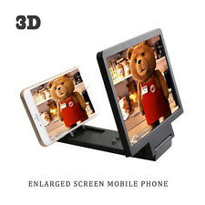 PHONE SCREEN ENLARGER 3D MAGNIFIER STAND PROJECTOR FOR iPHONE SAMSUNG SONY LG