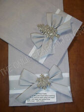 2 Frontgate Christmas Glitter Sparkle bath Guest Hand Towel Linen Silver brooch