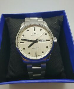 MIDO MULTIFORT MECHANICAL AUTOMATIC MEN'S WATCH GREAT CONDITION