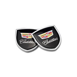Car Side Fender Sticker Emblems Badge Logo Accessories For Cadillac CT6  XTS SRX