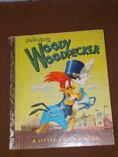 VINTAGE 1952 WOODY WOODPECKER LITTLE GOLDEN CHILDREN BOOK
