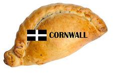 1 X Cornish Pasty Cornwall Estática Adhesivo Calcomanía Para Coches Motos Windows