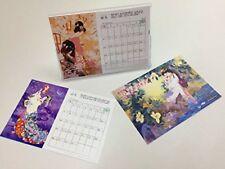 HARUYO MORITA Japanese Traditional KIMONO GEISHA MAIKO 100x148mm 2018 Calendar